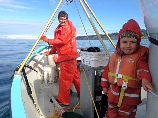 Halibut Fishing, A Family Affair