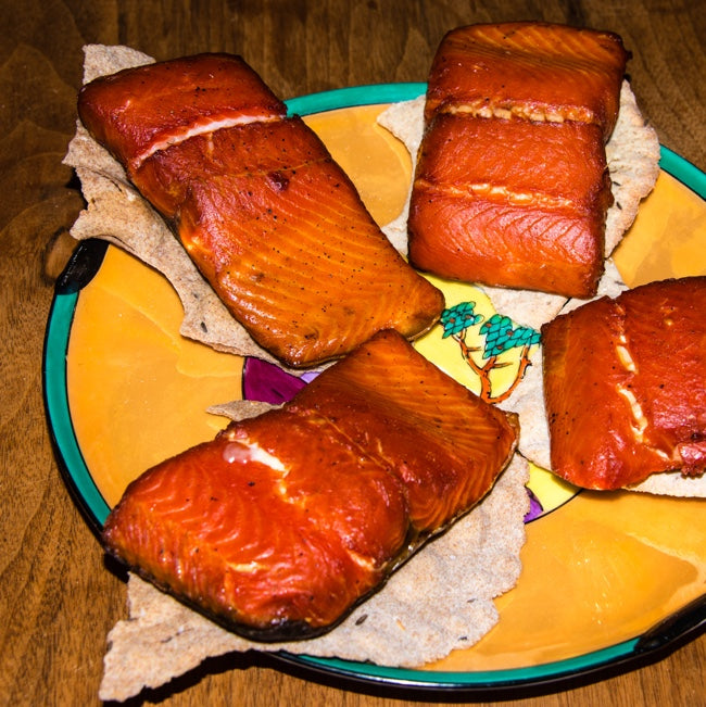 Smoked Sockeye Salmon, SHIPS-NOW