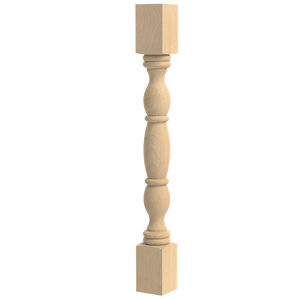 English Country Double Square Column 35.25""