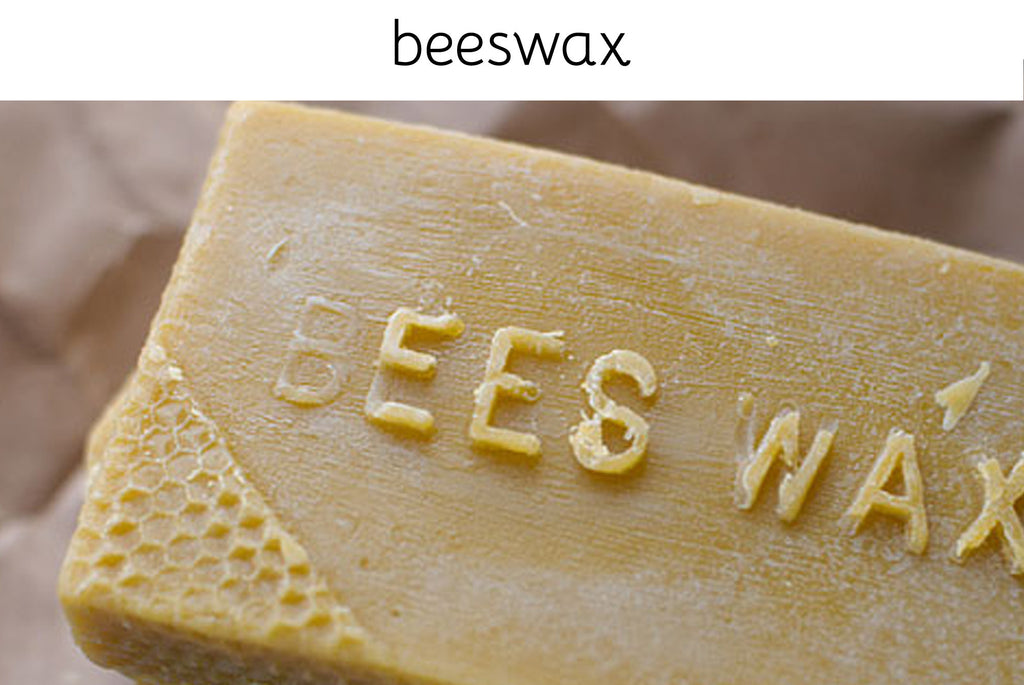 We use unprocessed beeswax from Milburn Apiaries. Beeswax is effective at providing a natural barrier on the skin from moisture and chaffing. Beeswax is not harmful to wetsuits, your skin or clothing. - Sweet Cheeks NZ