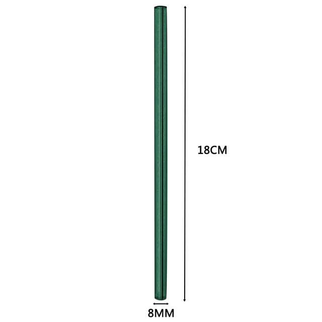 TENSKE 1PC Reusable Glass Straws