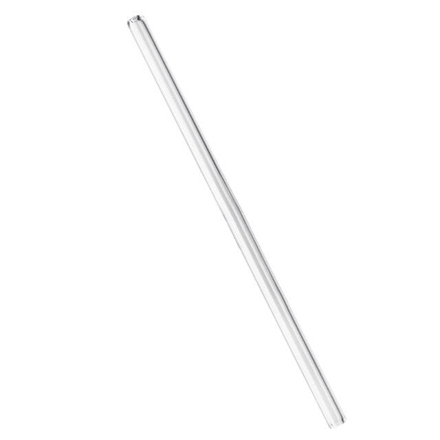 Healthy Glass Straw ECO-Friendly Household Glass Straight Pipet Tubularis Snore Piece Tube Reusable Wedding Birthday Party