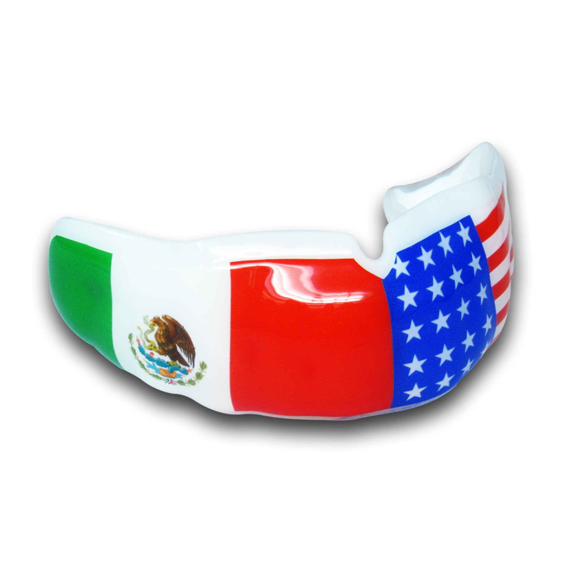 <span>Dual Flag</span> Mouthguard | Mouthpiece Guy