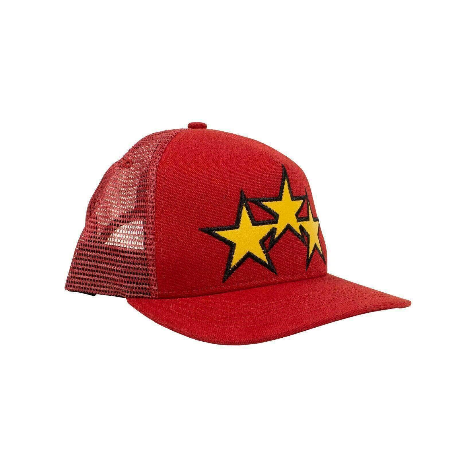 Amiri Men's Accessories 'Star Trucker' Baseball Cap - Red 191846027006 73A-1012