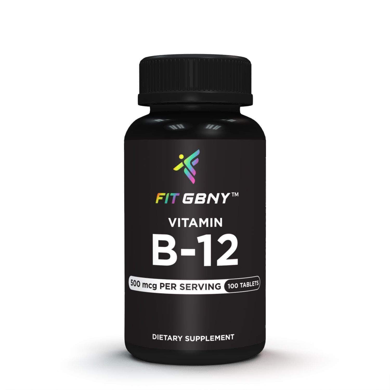FIT GBNY Supplement Fit GBNY Vitamin B-12 500 mcg