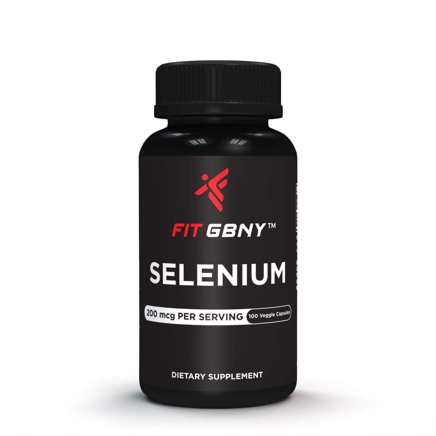 FIT GBNY Supplements Fit GBNY Selenium 200 mcg (100 Veg-Capsules) FGBS200