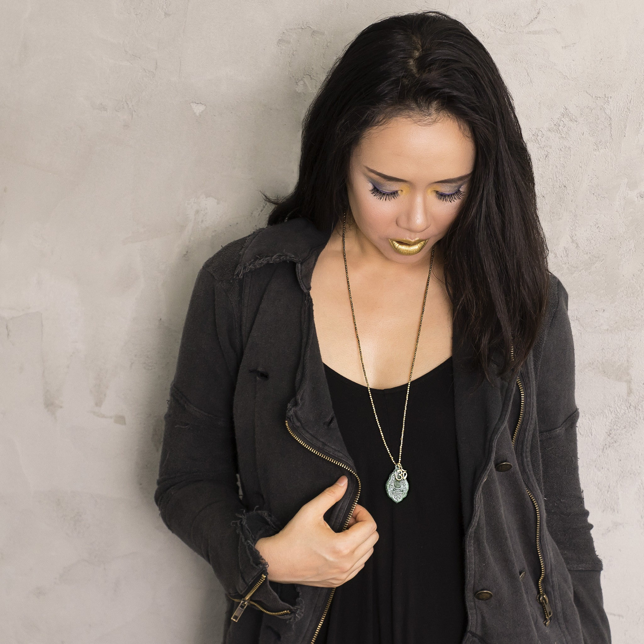 Custom Mala for InstaGram Star, Artsy Agnes, and Bali Buddha Necklace Feature!