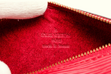 Vintage Authentic LV Red Epi Mini Papillon Wristlet Bag - TAO 919