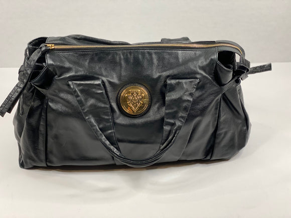 Vintage Gucci Hysteria Black Leather Bag - TAO 919