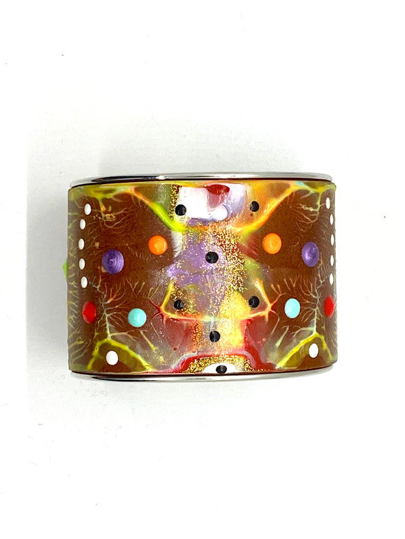 Rob Bacon Hand Painted Bracelet