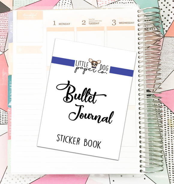 Bullet Journal Sticker Book