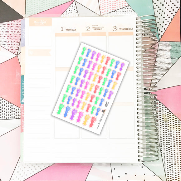 SS028 // Face Wash Stickers // Planner Stickers