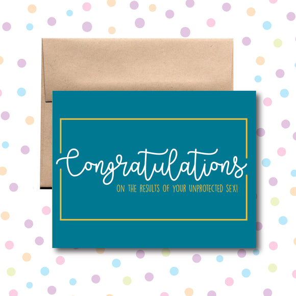 GC0103 Congratulations on Conceiving Card