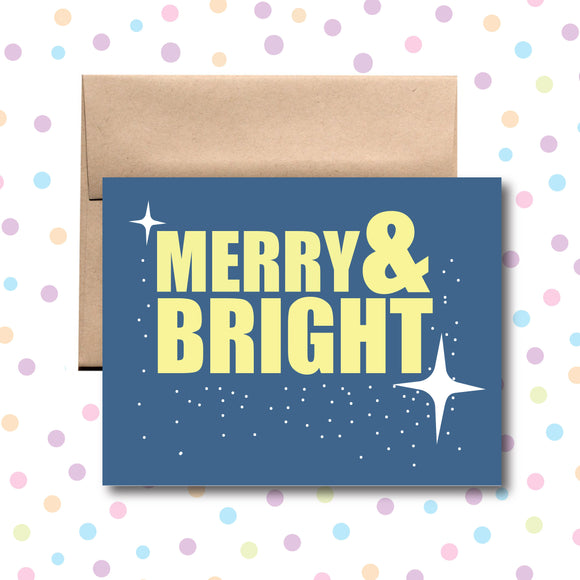 GC0151 Merry and Bright Card