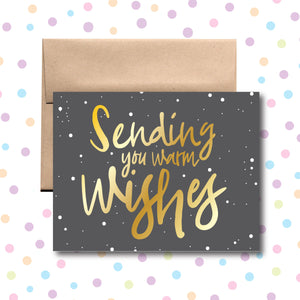 GC0156 Sending Warm Wishes Card