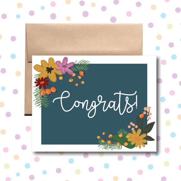 GC0161 Congratulations Card