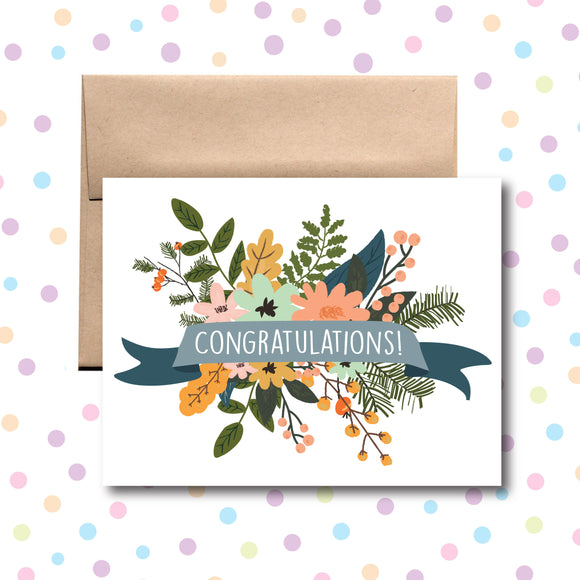 GC0164 Congratulations Card
