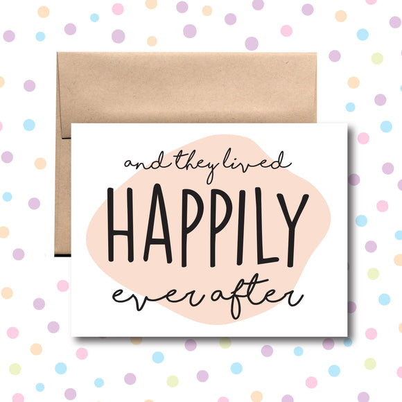 GC0168 Happily Ever After Card