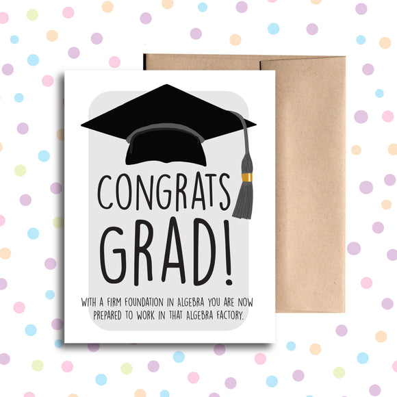 GC0207 Congrats Graduation Card
