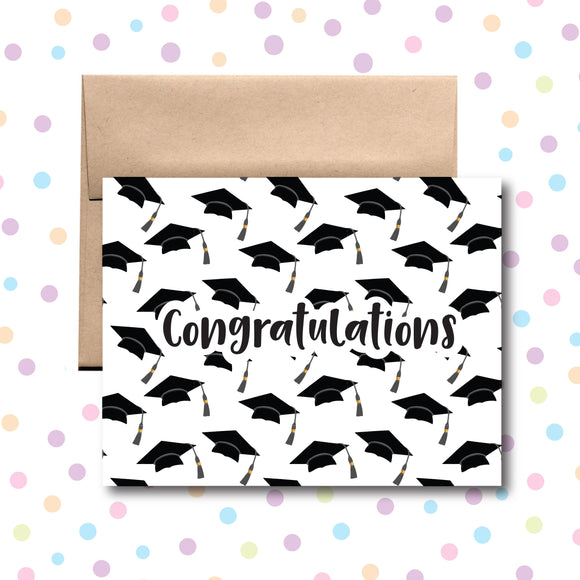 GC0211 Congrats Grad Caps Card