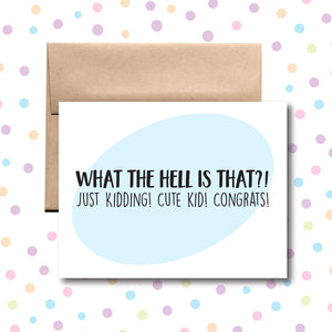 GC084 Congrats on Your Baby Card