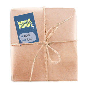 GT03 Merry and Bright Gift Tag