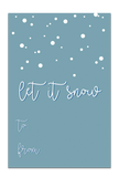 GT04 Let it Snow Gift Tag