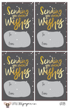 GT09 Sending Warm Wishes Gift Tags