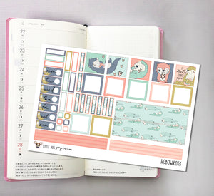 HOBOWK053 // Hobonichi Weeks Planner Sticker Kit // Otterly Love