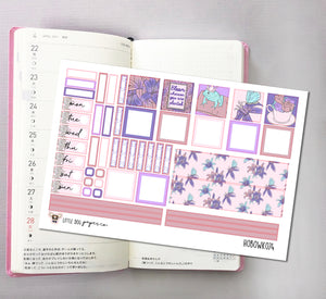 HOBOWK074 // Hobonichi Weeks Planner Sticker Kit // Spring Fairy