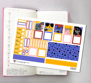 HOBOWK089 // Hobonichi Weeks Planner Sticker Kit // Sincerely Yours