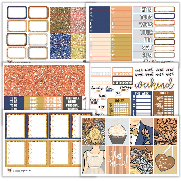I Do Collection // Planner Stickers