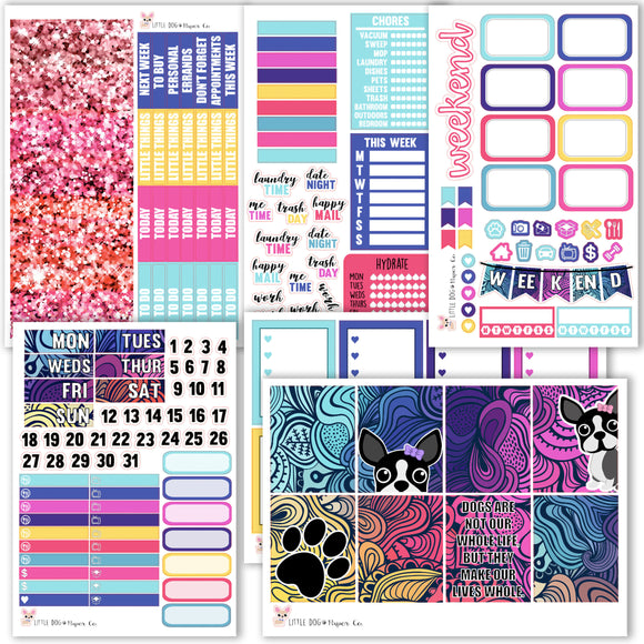 I Heart Penny Kit // Planner Stickers