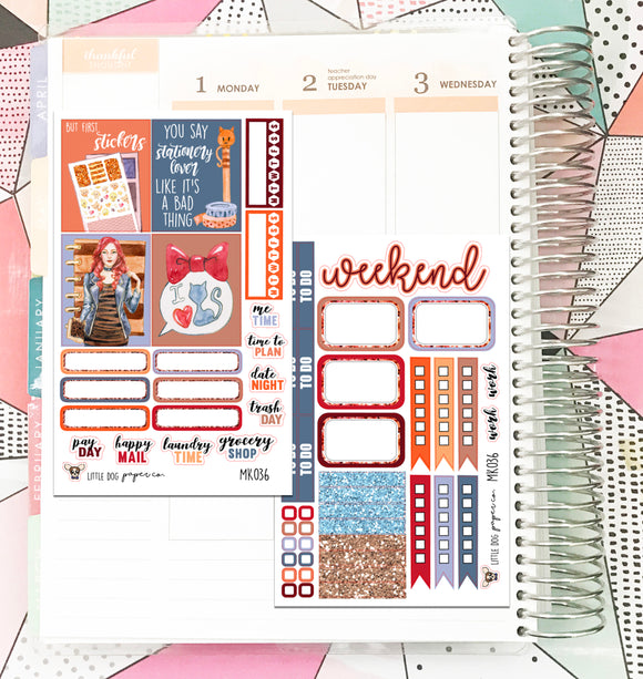 MK036 // Mini Kit // Planner Girl