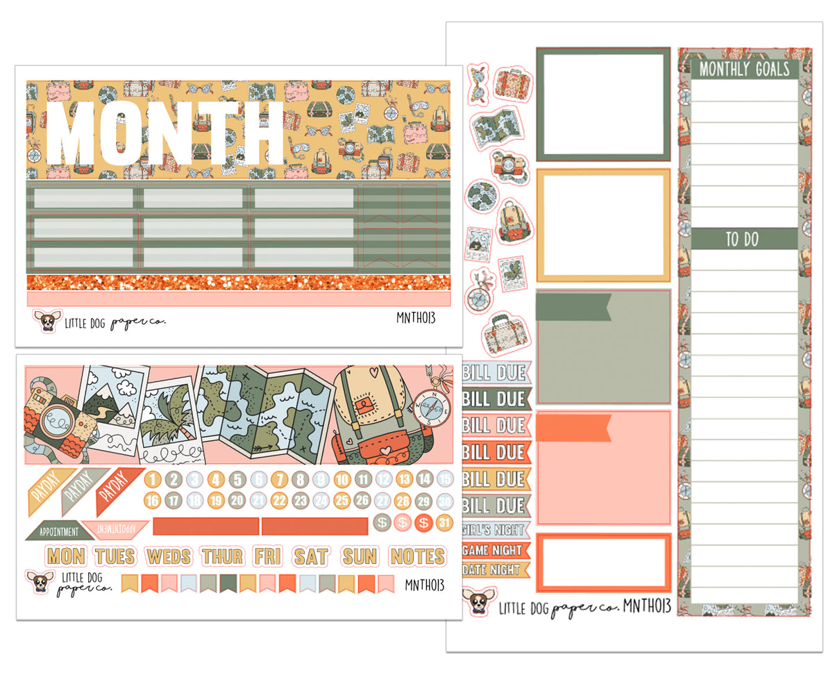 MNTH013 // Monthly Kit // Road Trip