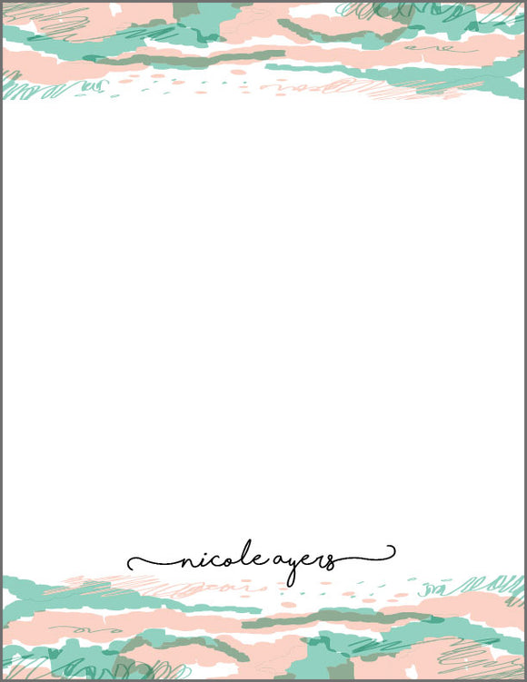 PP001 // Personalized Stationery