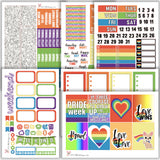 Pride Kit // Planner Stickers