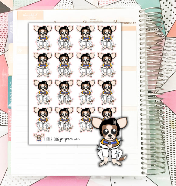 SHEL013 // Shelvis // Planner Stickers
