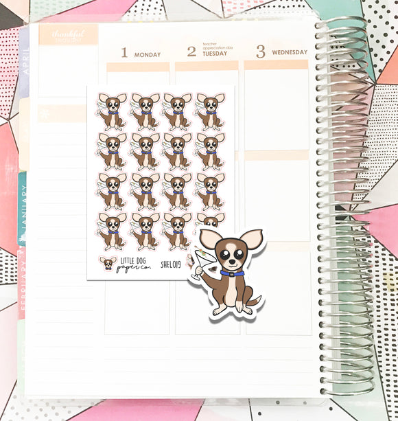 SHEL019 // Sheldon's Night Out // Planner Stickers