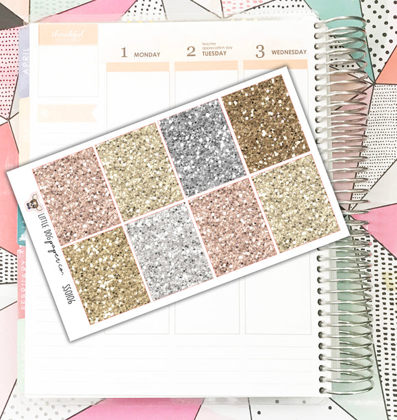 SS0106 // Glitter Full Boxes // Neutrals