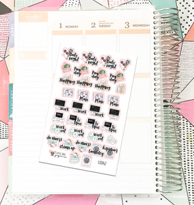 SS0142 // General Icons // Planner Stickers