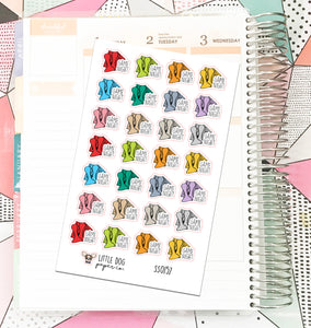 SS0157 // Game Night // Planner Stickers