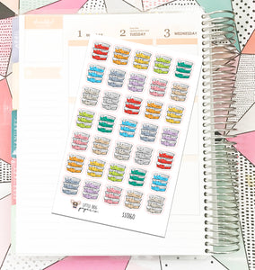 SS0160 // Meal Plan // Planner Stickers