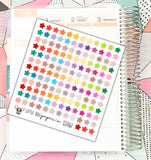 SS061 // Tiny Star Stickers // Planner Stickers