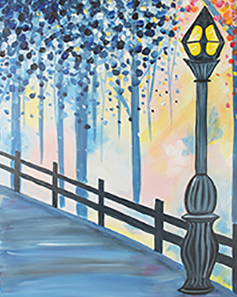 Evening Stroll 16x20 Canvas -- Friday, August 9th at 6pm