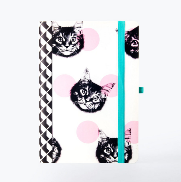 Cat Dot Grid Notebook