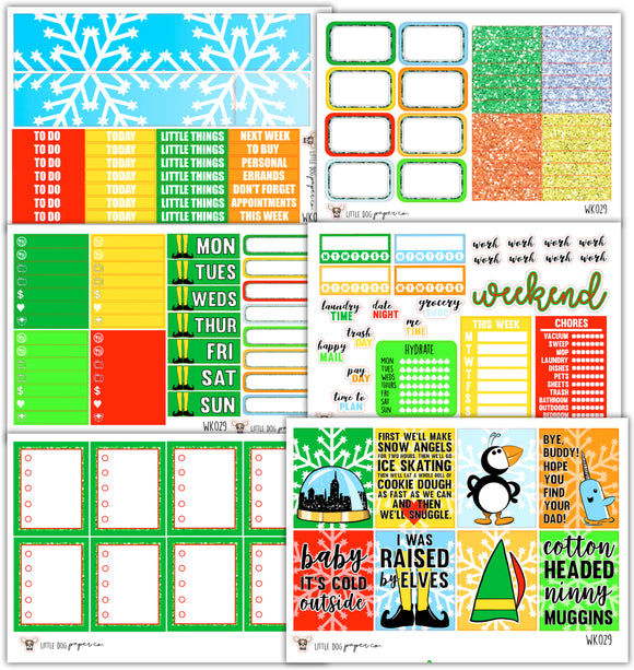 Ninny Muggins Collection // Planner Stickers