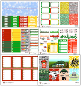 Clark's Christmas Collection // Planner Stickers