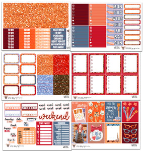 Planner Girl Collection // Planner Stickers