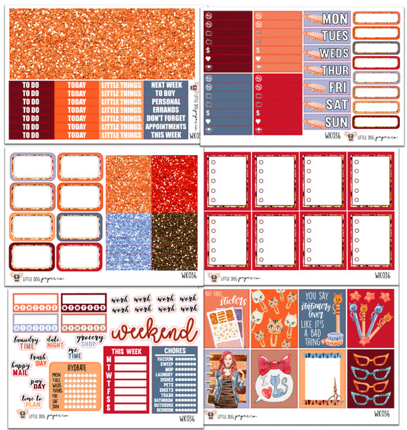 WK036 // Planner Girl Collection // Planner Stickers